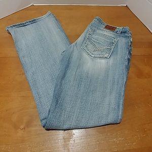 BKE Sabrina stretch jeans blue denim 30